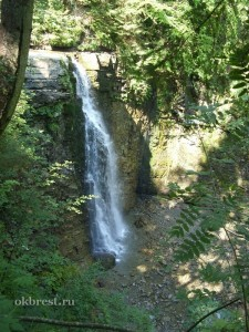 Карпаты. Манявский водопад