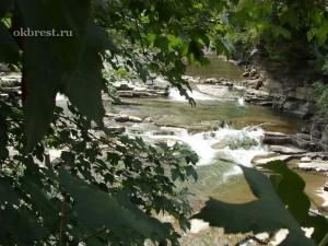 Карпаты. Горная река